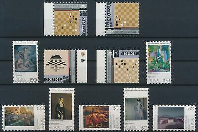 LJ75116 Armenia paintings chess art nice lot of good stamps MNH