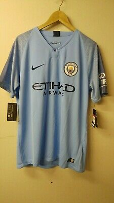 NIKE Manchester City Home Shirt 2018 Size L