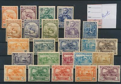 LJ77459 Portugal nice selection of better stamps good MH
