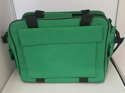 Green First Aid Heavy Duty Medical Bag Empty Or With 120 Pce Kit *FREE PRINTING*