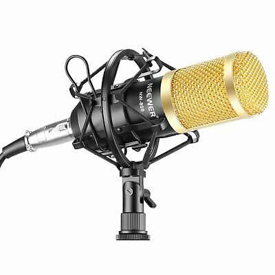 Neewer NW-800 Professional Studio Broadcasting & Recording Microphone Set Includ