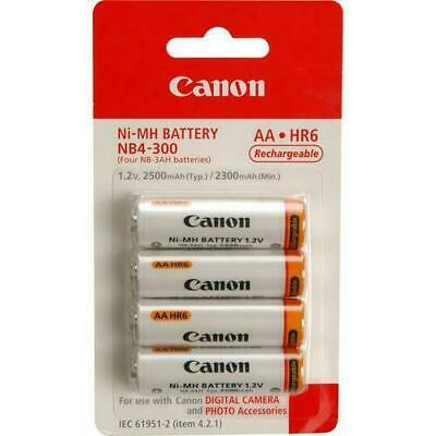 Canon NB4-300 AA NiMH Batteries (4-pack)