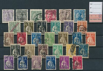LJ77569 Portugal definitives nice lot of good stamps used