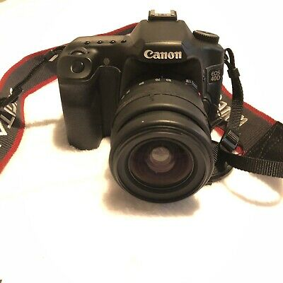 Canon EOS 40D DSLR Camera, Camera grip, lens 3 Batteries And Battery charger