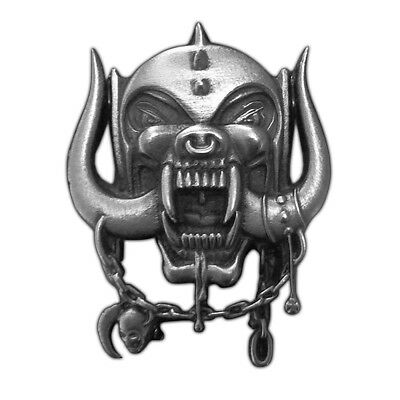 Motörhead Metall Pin # 6 Warpig Anstecker Badge Button