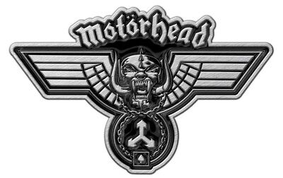 Motörhead Metall Pin # 9 Hammered Anstecker Badge Button