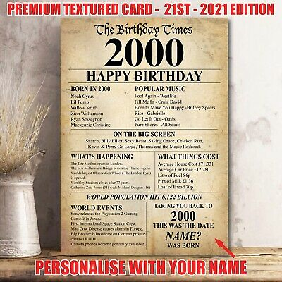 1969 Birthday Gift Present Poster Print Back In Newspaper Edition Milestone 36