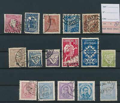 LJ77609 Portugal nice lot of good stamps used