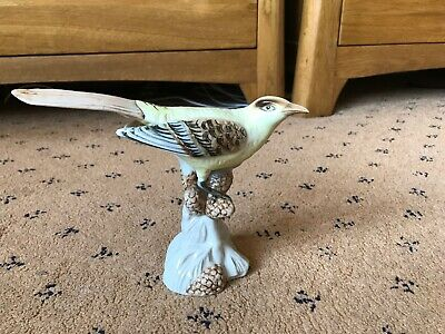 Royal Dux Bohemian Porcelain Bird Figurine