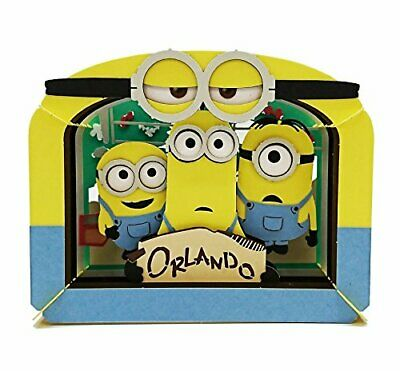 Minions ENSKY PAPER THEATER Despicable Me VILLAIN-CON PT-086 Gru from Japan F/S