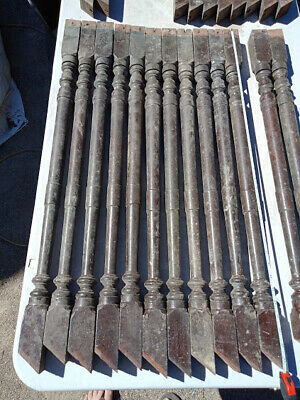 Cedar Staircase Balustrade Spindles Antique X 12