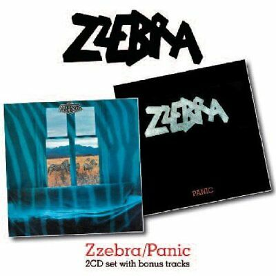 Zzebra - Zzebra / Panic (2010)  2CD  NEW/SEALED  SPEEDYPOST
