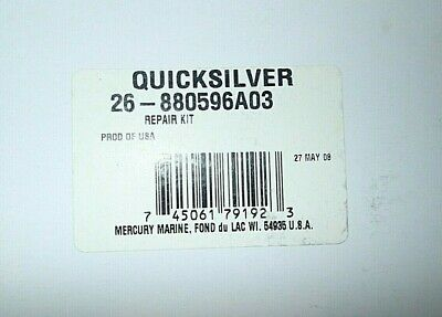 New Mercury Mercruiser Quicksilver OEM Part # 850286A03 LEVER//ROLLER KIT