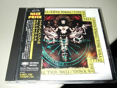 Fifth Angel : Time Will Tell Japan Cd 1999 Epic Esca 7754