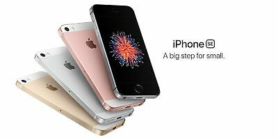 "New Apple iPhone SE - 4.0"" AT&T T-MOB Unlocked Smartphone/Silver/64GB"