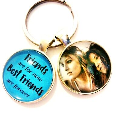 Personalised Best Friends Forever Photo Keyring Sisters Birthday Gifts Presents