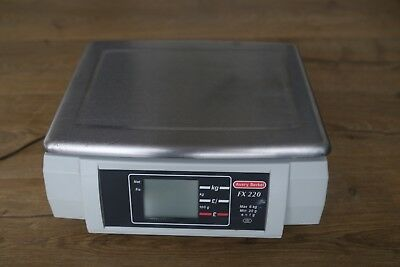 Avery Berkel fx 220 Retail Shop Scale -main/ battery - portable. used.