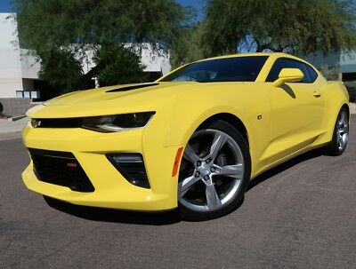 2018 Chevrolet Camaro SS Coupe S Coupe Automatic Back up Cam Sunroof 6.2L V8 2017 2016 2015 Camaro rs ss 1ss