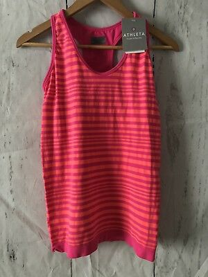 Nwt Pink Lotus By Athleta Women S Fishnet 3 4 Sleeve Top Neon Yellow Small S Factumevent Com