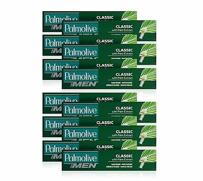 12 X  Palmolive - 100ml Shaving Cream Classic with Palm Extract