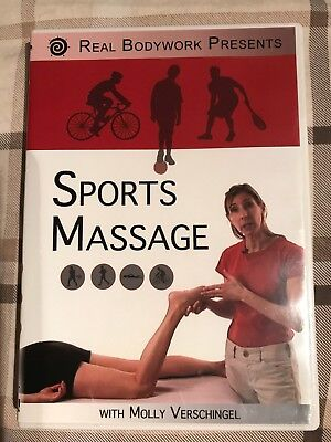 Sports Massage DVD  by Real Bodywork with Molly Verschingel includes a booklet