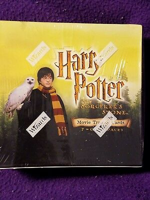 Harry Potter Sorcere's Stone Movie Trading Cards Sealed Box Wizards Of The Coast