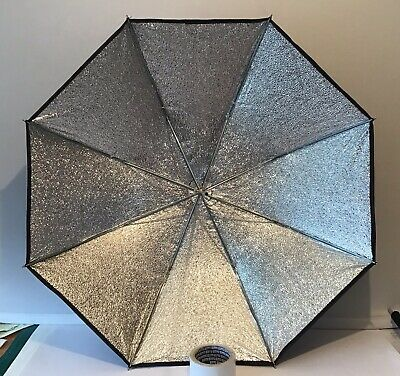 Elinchrom Umbrellas X2 Silver/Black Lighting Modifiers Excellent Condition Carry