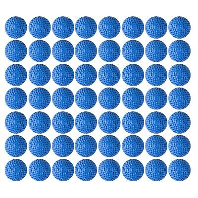 100pcs Soft Rounds PU Dart Refill Bullets For Nerf Rival Zeus Apollo Toy Blue UK