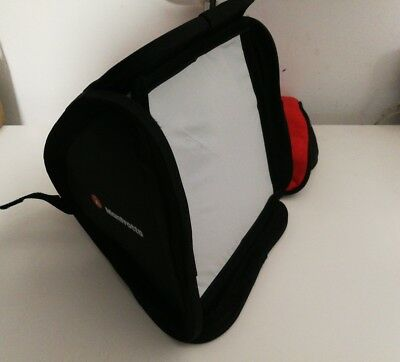 Manfrotto softbox for strobes / flash 28 x 28 cm multi fit