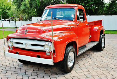 1953 Ford F-100 F100 with Dump Bed with Amazing Restoration 1953 Ford F100 Dump Bed Stunning Restoration Over $50k Spent, Power Steering,