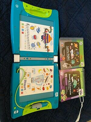 Leap Start Leap Frog Interactive learning System With 2 books PRE K