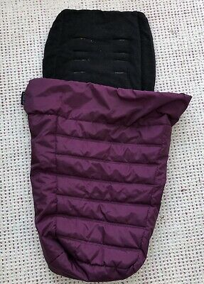 Purple Footmuff/Cosy Toes for BABY JOGGER CITY MINI / MINI GT / dbl buggy