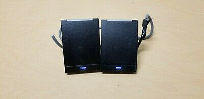 (2) HID multiCLASS SE RP40 Proximity Card Readers 920PTNNEK00000