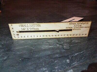 Royal Mail, Size Guide, Small Letter and Measuring Ruler