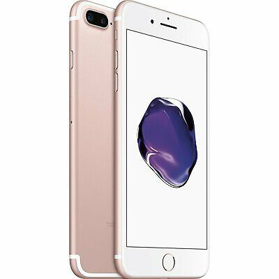 Apple iPhone 7 Plus 128GB Rose Gold Factory GSM Unlocked AT&T / T-Mobile Phone