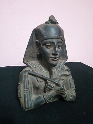 RARE ANTIQUE ANCIENT EGYPTIAN Statue Pharaoh Akhenaten 1336-1334 BC