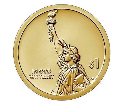 2018 S Proof American Innovation Golden Dollar With Coa In Mint Packaging !!!!