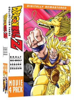 Japanimation-Dragon Ball Z: Movie Pack 3 (4Pc) / (Rmst Box) Dvd New
