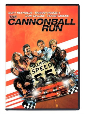 ACTION/ADVENTURE-Cannonball Run DVD NEW