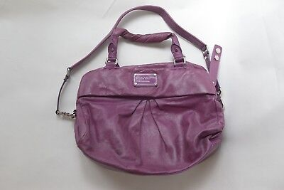 7ac4a863af93 Marc by Marc Jacobs Purple Leather Standard Supply Workwear Handbag Tote