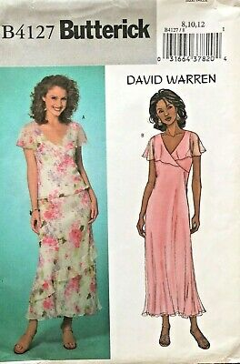 Butterick Misses' Top, Dress, Skirt David Warren Pattern B4127 Size 8-12 UNCUT