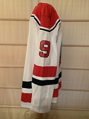 0450f5b85 Adidas Men's New Jersey Devils Cory Schneider #35 Authentic Pro Retro Jersey  46