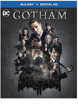GOTHAM: THE COMPLETE SECOND...-GOTHAM: THE COMPLETE SECOND SEASON (4 Blu-Ray NEW