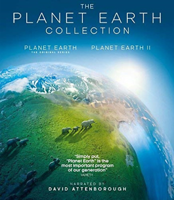 Planet Earth Ii / Blue Plan...-Planet Earth Ii/blue Planet Ii (4K-Uhd Bl Dvd New