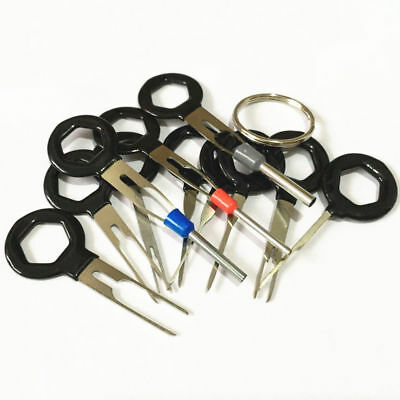 11Pcs Car Boat Wiring Connector Extractor Puller Release Terminal Removal Tools