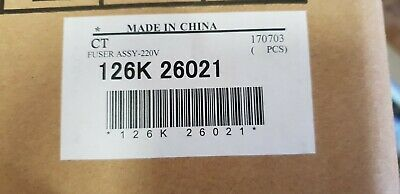 Genuine Xerox 126K26021 Fuser for DocuCentre C250/360/450 II C2200/3300/4300