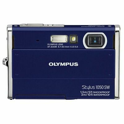 Olympus Stylus 1050SW Digital Camera Blue Waterproof 226465 FREE SHIPPING
