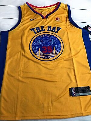 finest selection 2f914 b8fa8 KEVIN DURANT JERSEY! Golden State Warriors men's XL