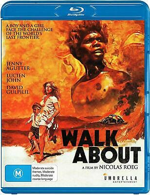 Walkabout Blu-Ray [New/Sealed] Region A, B, C Remastered