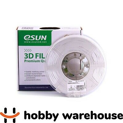 eSUN PLA+ 3D Filament 1.75mm White 1kg